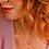 Thumbnail: Desire Kiss Crush Mini Heart Amethyst Briolette Necklace