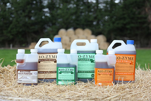 Bio-Zyme cleaning products New Zealand - supplied by Waiheke Filters NZ
