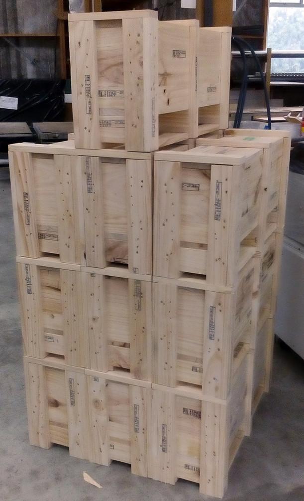 Identical crates