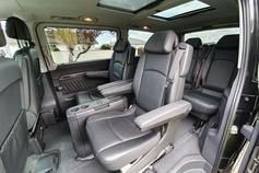 Inside Mercedes Van