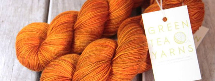 Tamarind Sunset - 4 ply in merino & nylon