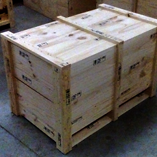 Timber export compliant crate built by Custom Crating Christchurch