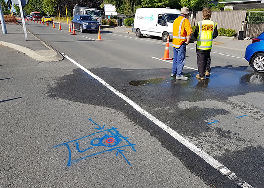 Image of leak detection by Safety First Locators Christchurch