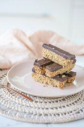 Chocolate Hazelnut Butter Bars