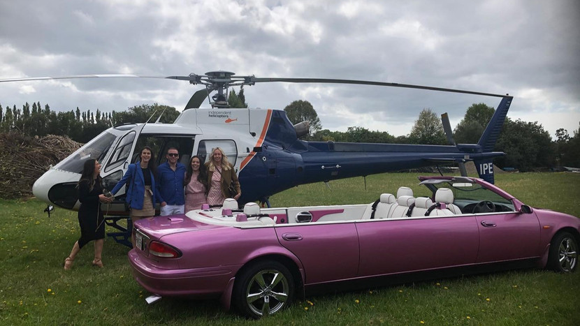 Girls adventure with Independent Helicopters Ltd - charter helicopter flights in Christchurch and Canterbury