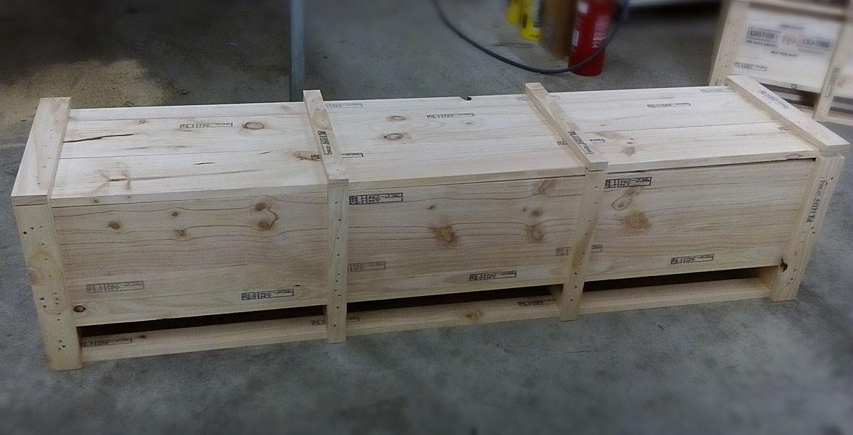Medium timber crate