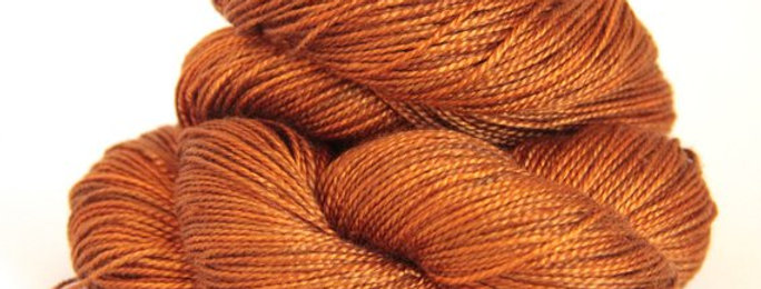 Tamarind Sunset - 4 ply in Mulberry silk