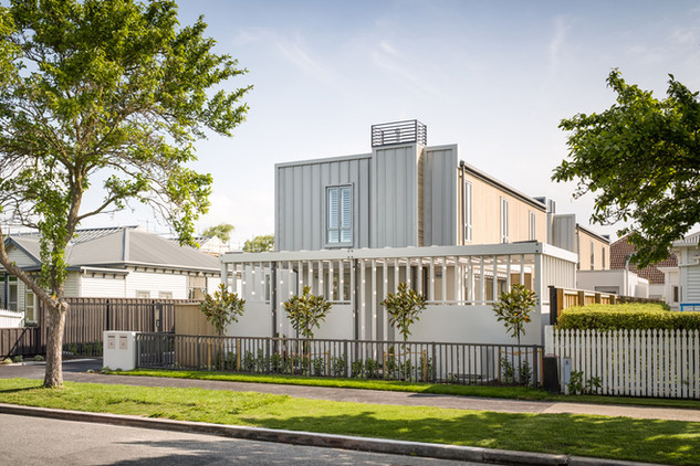 Thomson - architectural townhouses Christchurch - Barry Connor Design