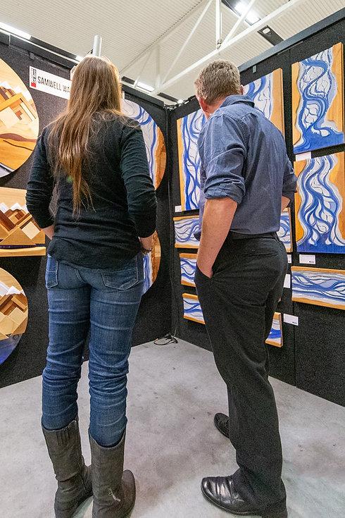 Show days of the Christchurch Art Show