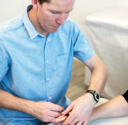 Craig Hawkyard, hand physiotherapists Canterbury