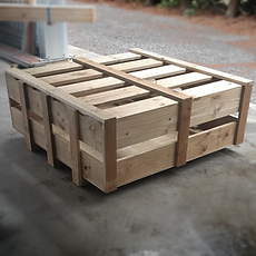 Slatted motorcycle crates by Custom Crating NZ