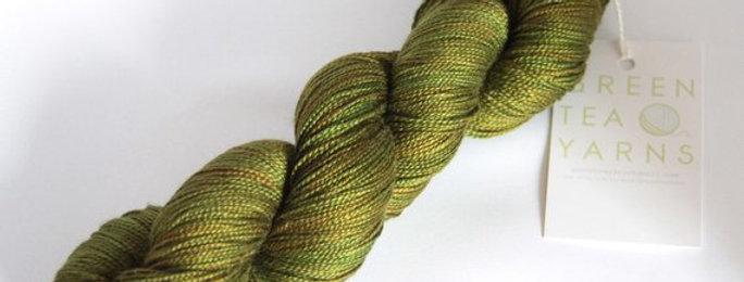Ocean Kelp - 4 ply in Mulberry silk