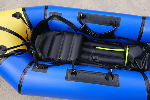 Whitewater - WW255 whitewater packraft with spraydeck for up to Grade 4