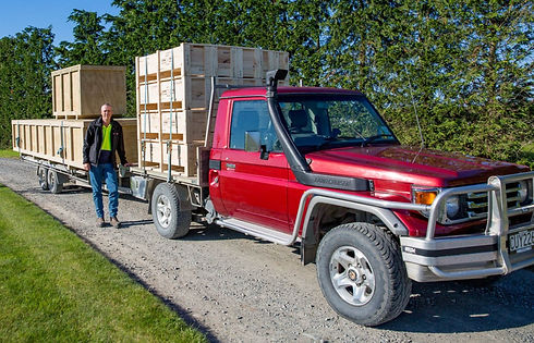 Ian Coppard, of Custom Crating NZ - export crates and boxes