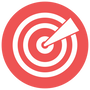 Targetted icon for Follow My Lead tailor-made video training for NZ businesses