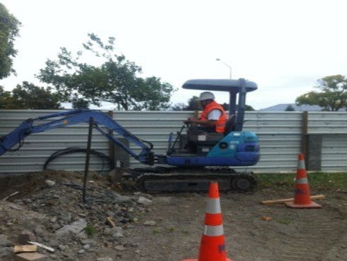Excavation service by Christchurch residential plumbers Tipene Plumbing, Canterbury-wide.