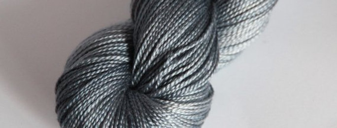 Nerves of Steel - 4 ply in Mulberry silk