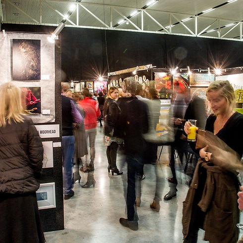 Opening Night of the Christchurch Art Show