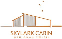 Skylark Cabin Logo - Twizel Mt Cook accommodation NZ