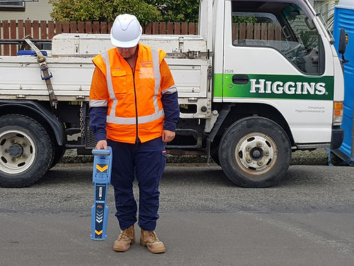 Image of service locating by Safety First Locators Christchurch
