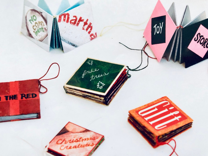 Artist Book Workshops by Kate Battle Book Arts Montreal Canada