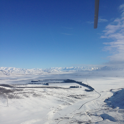 Try heli skiing with Independent Helicopters Ltd - charter helicopter flights in Christchurch and Canterbury