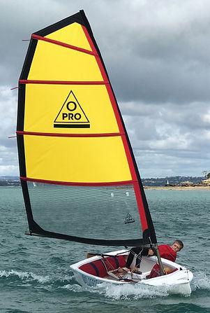 O-Pro Optimist yacht extension