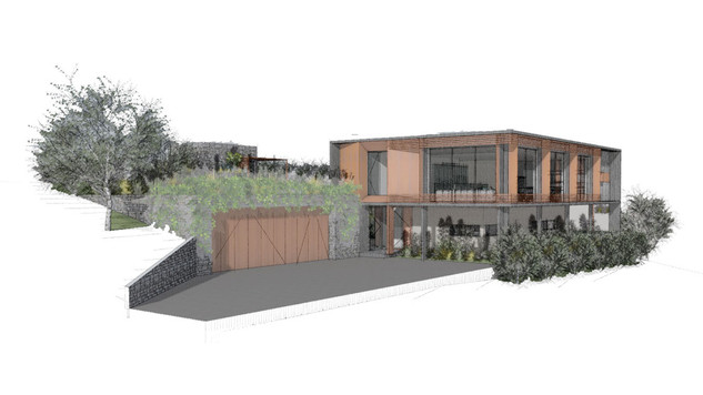 Richmond Hill new home build - by Barry Connor Architectural Design