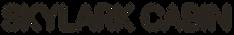 Logo of  Skylark Cabin luxury accommodation in Twizel NZ