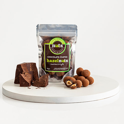Chocolate Coated Hazelnuts