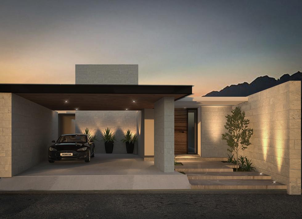 Diseño de Fachada Casa Martinica