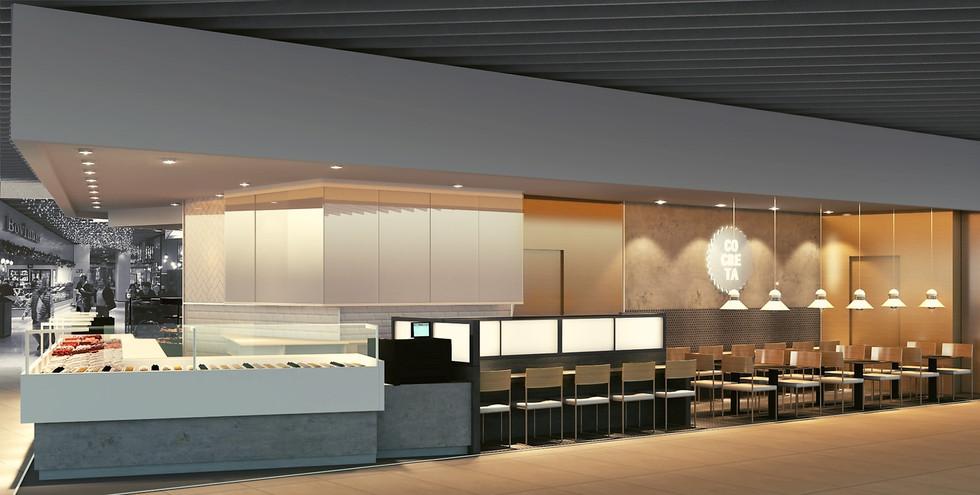 Diseño Restaurante Diagonal en Barcelona