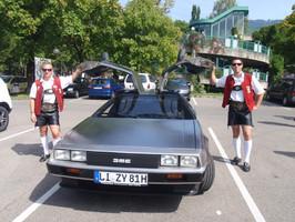 DeLorean ist immer ein Hingucker