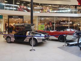 DeLorean für die Aussteller