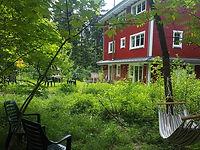 Schwedenhaus Eichenerg Garten
