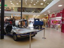 DeLorean für die Ausstellung