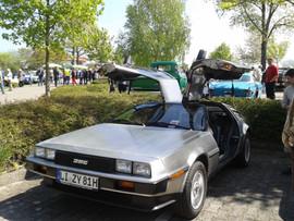 DeLorean steht immer im Mittelpunkt