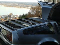 Delorean über Bregenz