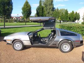 DeLorean mit Naturklimaanlage