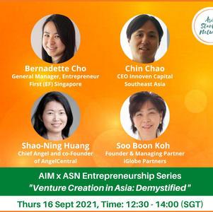 Venture Creation in Asia: Demystified