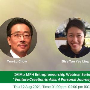 AIM x MFH Webinar 12 Aug - Venture Creation