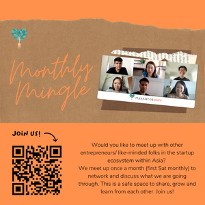 Monthly mingle (First Saturday of each month)