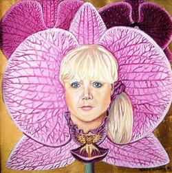 Mum in orchid:)