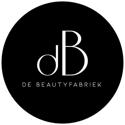 Logo ontwerp De Beautyfabriek Doetinchem Apeldoorn Groenlo zwarte variant