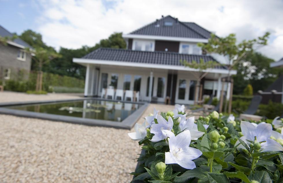 Moderne tuin villa