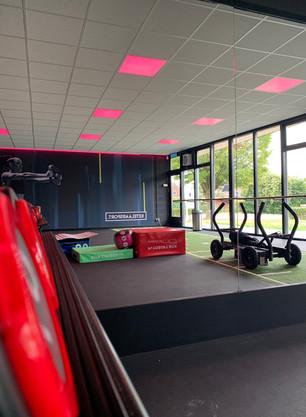 Led verlichting in plafond Free fit zone Ketelaar Sport