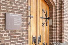 Monument, ingang Kerk, Georgiuskerk terborg.