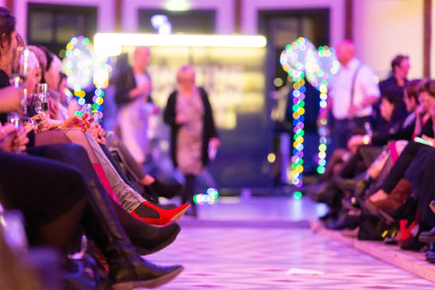 Detail Fashionshow, schoenen. Look and Feel Style Concepts.