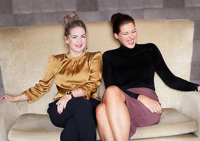 Sandra Overbeek en Janneke Godschalk