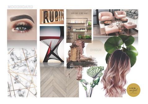 Moodboard Style Concept De Beautyfabriek Doetinchem - Groenlo -Apeldoorn